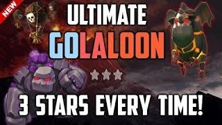 Clash Of Clans | GoLaLoon 3 Star Attack Strategy on Town Hall 10 | TH10 GOLALOON