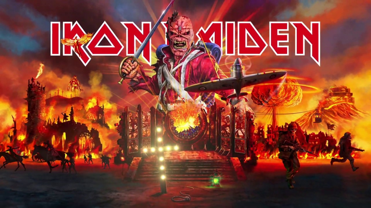 Iron Maiden Tour 2020.Iron Maiden Legacy Of The Beast Tour 2020 Trailer