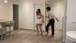 Samuel Peron e Tania Bambaci - ballando a casa - Samba