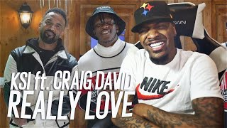 KSI - Really Love (feat. Craig David & Digital Farm Animals) (REACTION!!!)