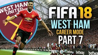 FIFA 18 West Ham Career Mode Gameplay Walkthrough Part 7 - UP AND DOWN