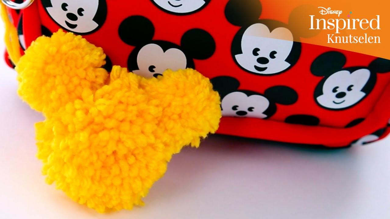 New Disney Inspired   Knutselen: Mickey Mouse sleutelhanger   Disney  @BS13