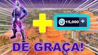 * URGENT * HOW TO WIN 15.000 VBUCKS AND GALAXY SKIN AT FORTNITE FOR FREE!!!