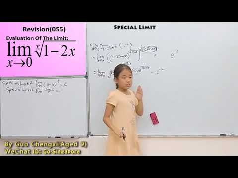 Methods OF LIMIT CALCULATING PRESENTED BY GUO CHENGXI (142)