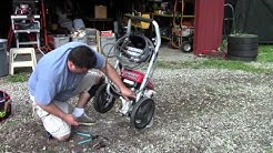 Pressure Washer - motor runs / pump doesn't - How to fix!!!