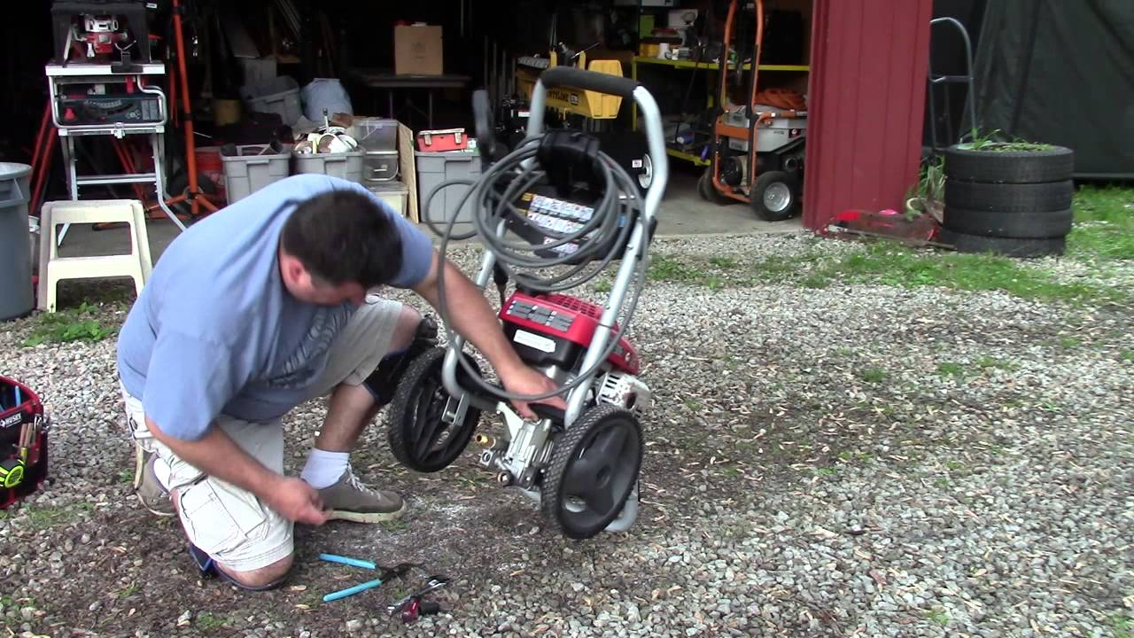 Pressure Washer Motor Runs Pump Doesn T How To Fix