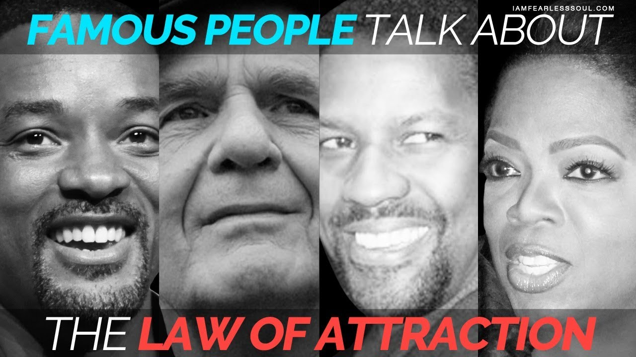 37 Quotes: Famous People Talk About The Law of Attraction