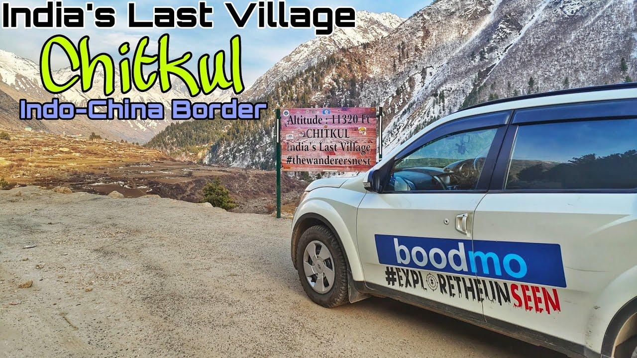 India's Last Village | Chitkul | Indo-China Border | XUV500 | Extreme Spiti | #SpitiValley