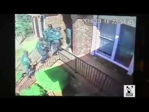 """Actual Footage from the Raid on J. Cole's home that inspired the song """"Neighbors"""""""