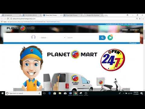 Planet Mart Online Store Short Tutorial for Personal URL