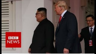 Trump Kim summit: US and North Korean leaders to hold historic talks - BBC News