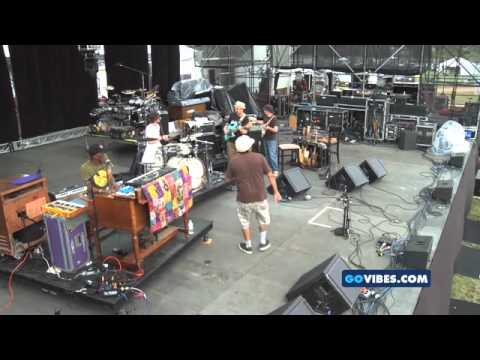 """Steve Kimock performs """"Red Hot Mama Jam"""" at the Gathering of the Vibes 2010"""