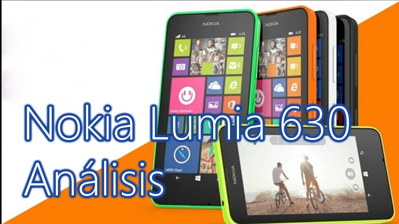 Análisis Nokia Lumia 630