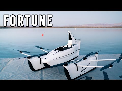 Google founder Larry Page's Kitty Hawk company unveiled its fully electric personal aircraft: the Kitty Hawk Flyer, in 2018. The company is seeking permission to test out the craft in New Jersey.