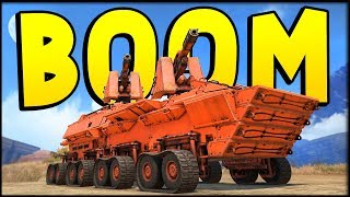 Crossout - HERE COMES THE BOOM! - LAND BATTLESHIP & DUAL SCORPION NIGHTMARES (Crossout Gameplay)