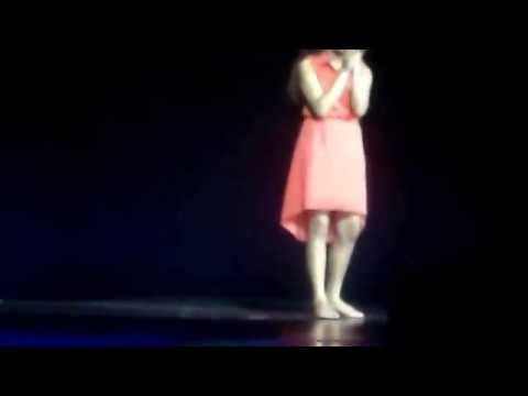 Jasmine sings All of Me at Paw Paw Middle School Talent Show