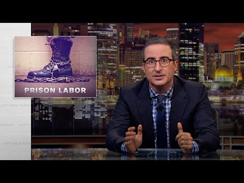 Prison Labor: Last Week Tonight with John Oliver (HBO)