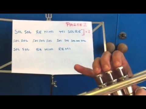 Uptown funk Bruno Mars - Tutorial per Tromba - parte 1°- how to play