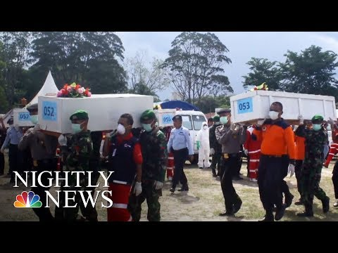 Thumbnail: AirAsia Jet Plunges 22,000 Feet Within Minutes | NBC Nightly News