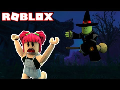 ESCAPE FROM THE WICKED WITCH! | Roblox! | Amy Lee33