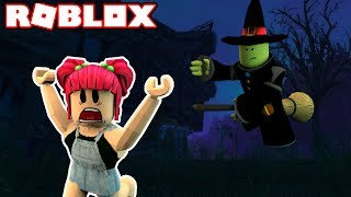 FUGA DALLA STREGA CATTIVA! | Roblox! | Amy Lee33
