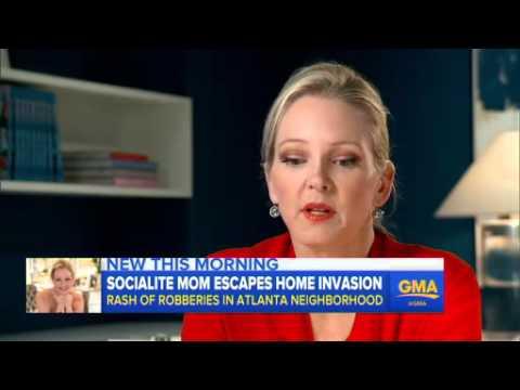 Atlanta Socialite Narrowly Escapes Attempted Home Invasion