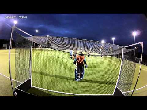 Waitakere Prem Reserve Hockey - Behind Goal post A - 2