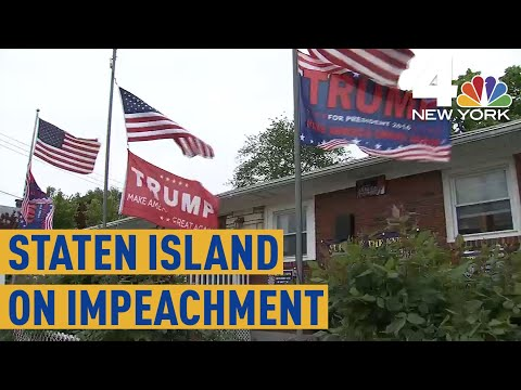 'It's BullS!@*!:' How Staten Island Feels About the Impeachment Inquiry | NBC New York