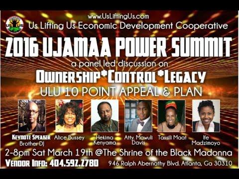 2016 Ujamaa Power Summit usliftingus.com annual event Atlanta March 19th