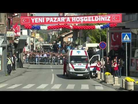 President Recep Tayyip Erdogan visits Serbia's Muslim-majority city of Novi Pazar