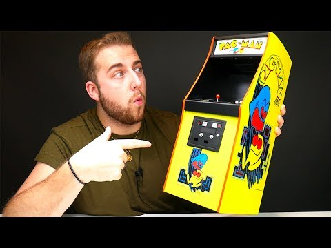 Unboxing The $200 Mini PAC-MAN Arcade Cabinet