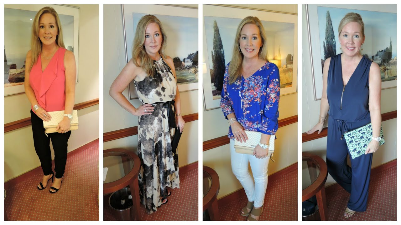 Cruise Outfits Of The Week Panama Canal Youtube