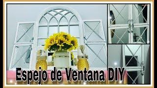 Gambar cover SORTEO CERRADO-DIY ESPEJOS DE VENTANA! WINDOW MIRROR DIY// COLLAB TOTALLY DAZZLED
