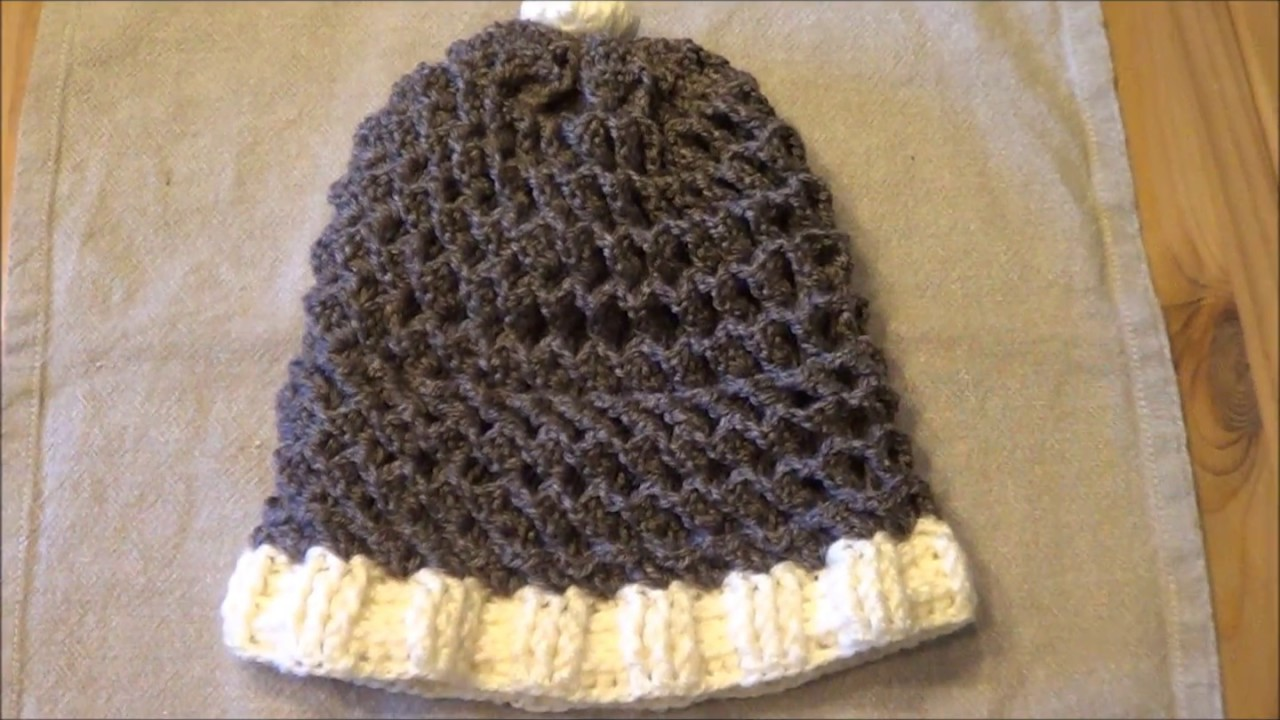 TUTO Crochet  Bonnet en 3D facile / crochet tutorial 3D cap