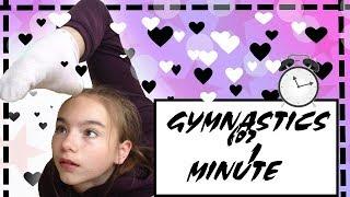 Гимнастические элементы за МИНУТУ! Сколько ты сделаешь? Gymnastics from TV Сестричек