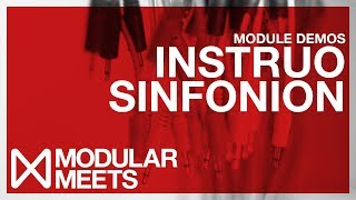 Yet more awesomeness from Instruo at Modular Meets Leeds 2017. This...