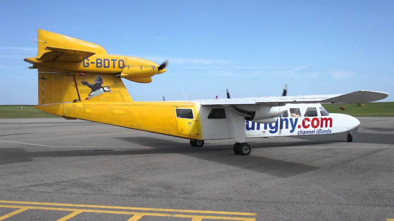 Britten Norman Trislander Engine Start Procedure Aurigny Air