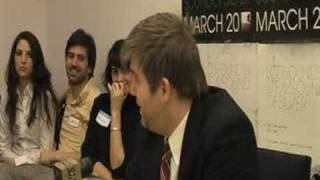 "LCD Soundsystem - ""Backlash"" Press Conference (Part 2 of 6)"