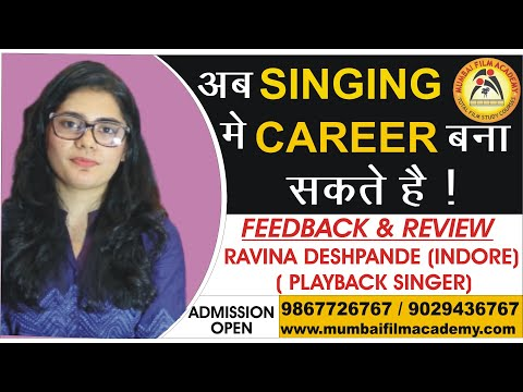 Best Singing Classes in Mumbai by Ravina | Hindi | Mumbai Film Academy | Feedback & Reviews.