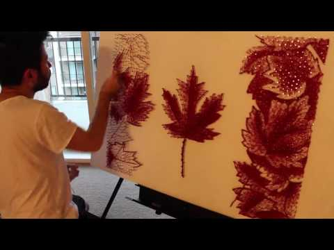 Nails Art, Canada150, 150Canada, Identity and Proud - Walid Ehssan