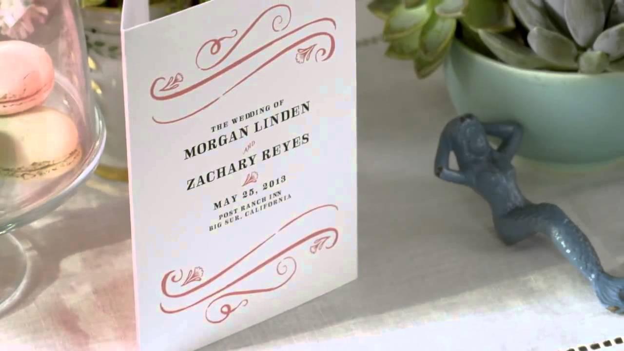 Free Wedding Invitation Samples From Weddingpaperdivas Youtube
