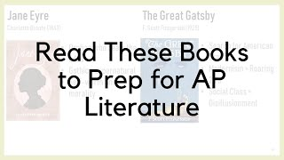 Read These Books to Prep for AP Literature