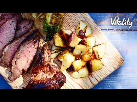 BBQ Butterflied Leg Of Lamb | Vitality Recipes | Vitality UK