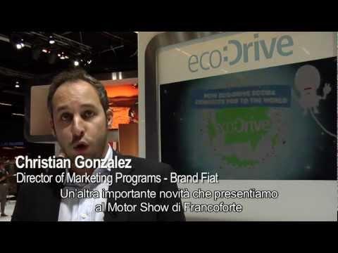 Fiat @ Frankfurt Motor Show 2011: discovering Fiat eco:Drive Mobile with Christian Gonzalez
