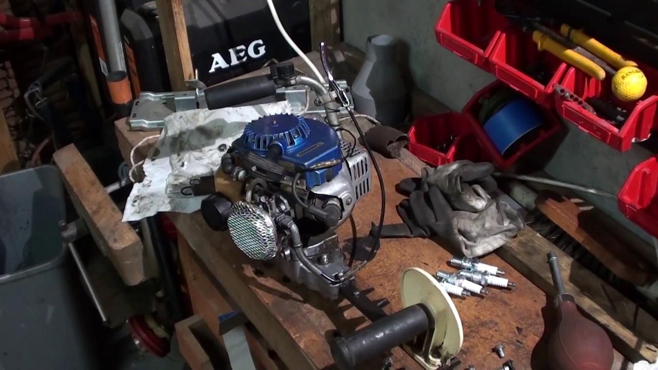 Kawasaki marunaka d montage nettoyage du carburateur youtube - Nettoyage carburateur tondeuse ...