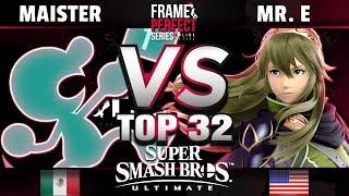 FPS2 ONLINE - SSG | Maister (G&W) vs Mr. E (Lucina) - Top 32