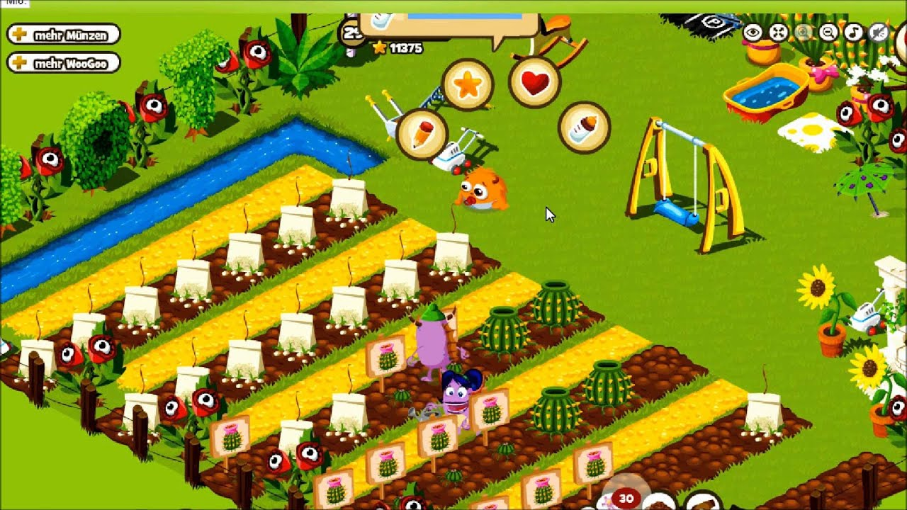 Monster World Garten Monster World Monster Garten
