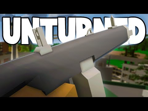 Unturned 3.18.15.0: NEW UMP and AA-12! (Underwater Location & Map Progress Report)