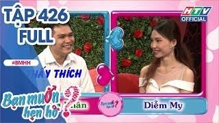 HTV BẠN MUỐN HẸN HÒ | Cô gái thích chàng trai ngực bự, hứa sẽ huấn luyện kỹ năng hôn | BMHH #426