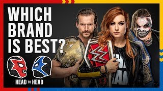 Raw vs. SmackDown vs. NXT: WWE Head to Head (feat. Steve)
